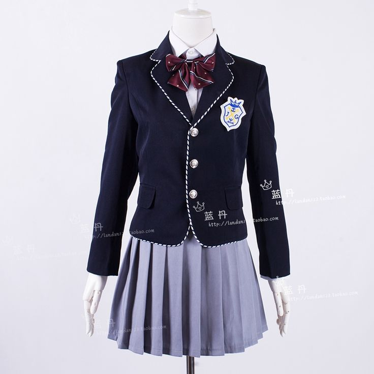 Heirs with British DK winter uniforms school uniforms Korean jacket sleeved uniforms class suit-in School Uniforms from Novelty & Special Use on Aliexpress.com | Alibaba Group