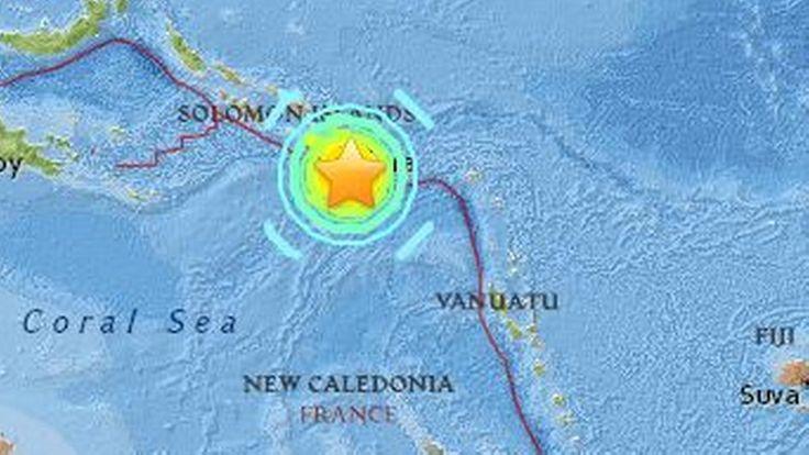 Epizentrum nahe der Salomonen: Starkes Erdbeben löst Tsunami-Warnung aus