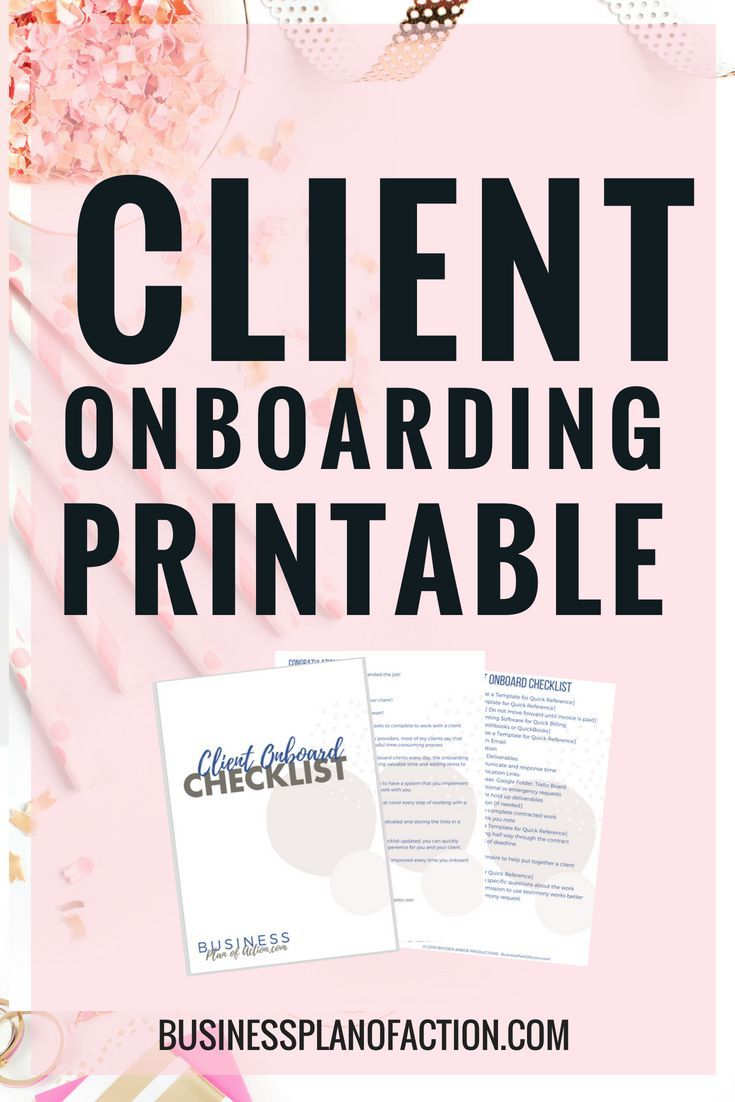 Do You Need A Client Onboarding Checklist Here Is A Simple And Straightforward Client Onboarding Proces Business Systems Virtual Assistant Business Onboarding