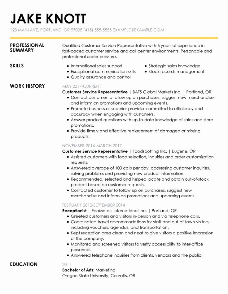 Resume Title Examples for Any Job Elegant 30 Resume