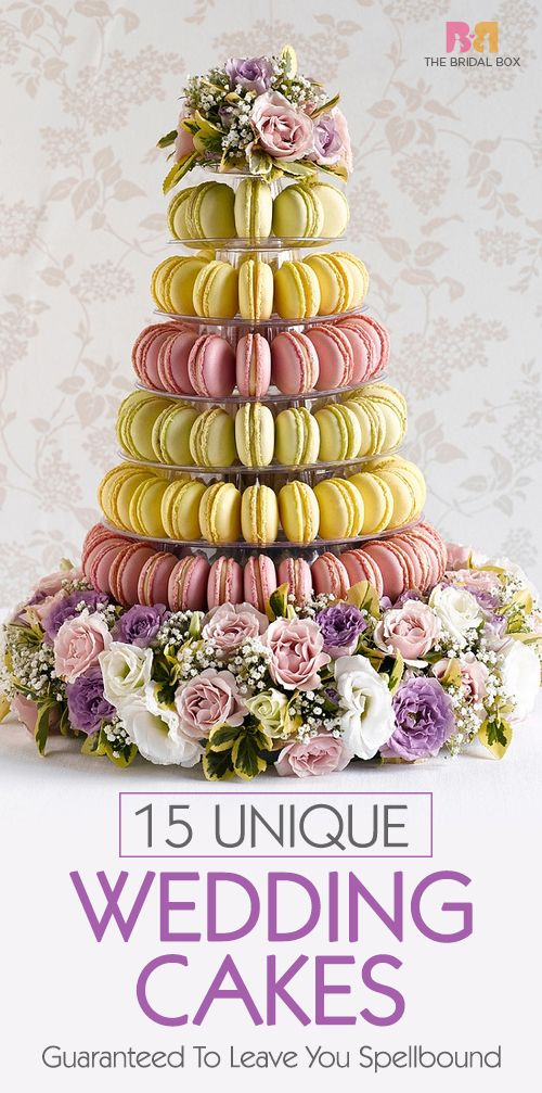 15 Unique Wedding Cakes Guaranteed To Leave You Spellbound