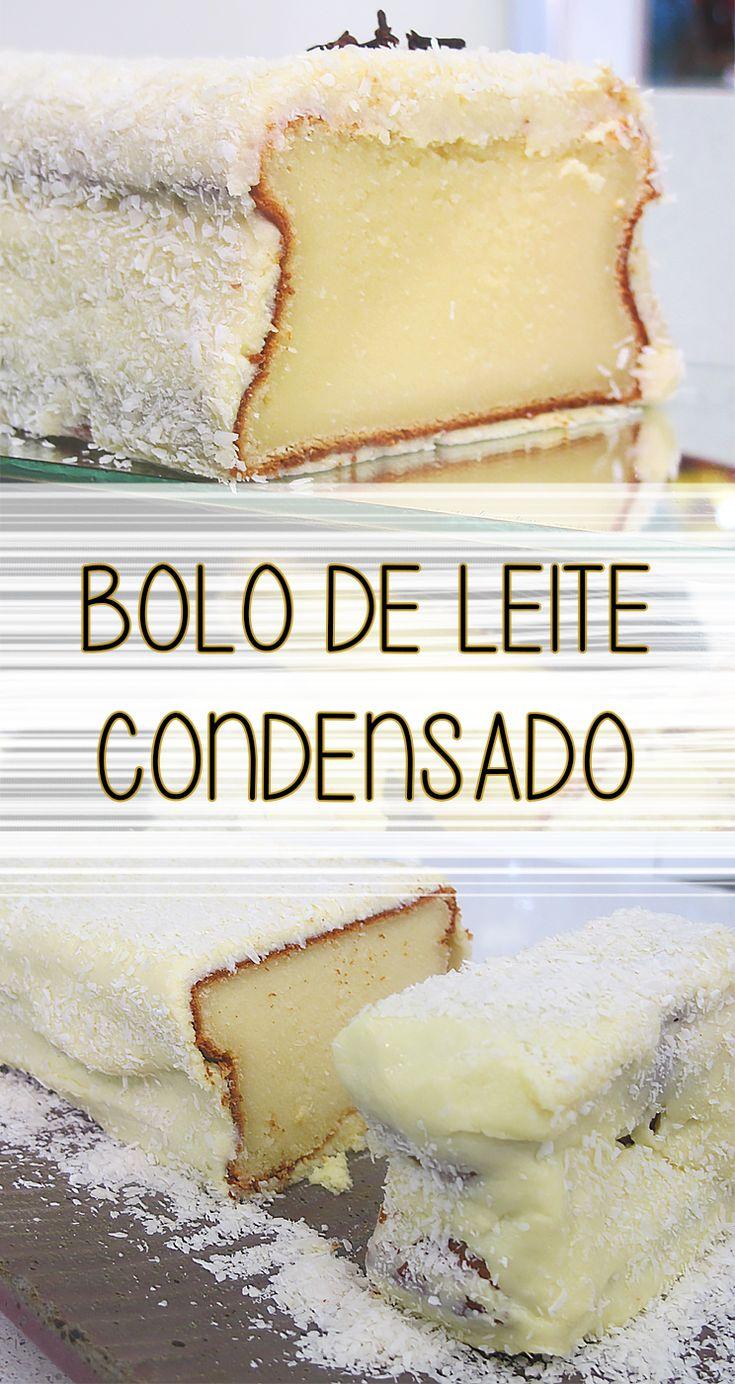 Receita de Bolo de leite condensado | Um bolo incrivelmente saboroso que vai surpreender todo mundo
