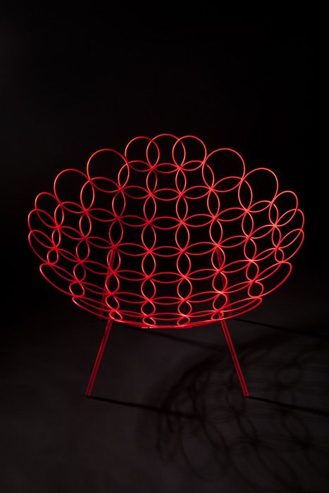 Jan and Henry | Circle armchair for Cappellini Next