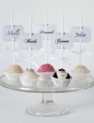 Bride & Groom Pops, Popcake Kitchen