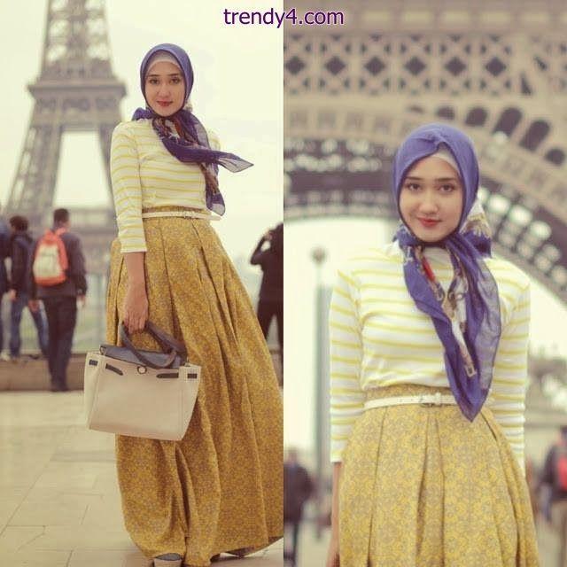 School Hijab Styles Fashion for Muslim Girls 2014