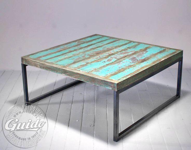 Industrial Coffee Table Livingroom Pinterest