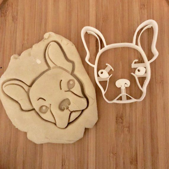 French Bulldog Cookie Cutter Frenchie Cookie Cutter Bulldog