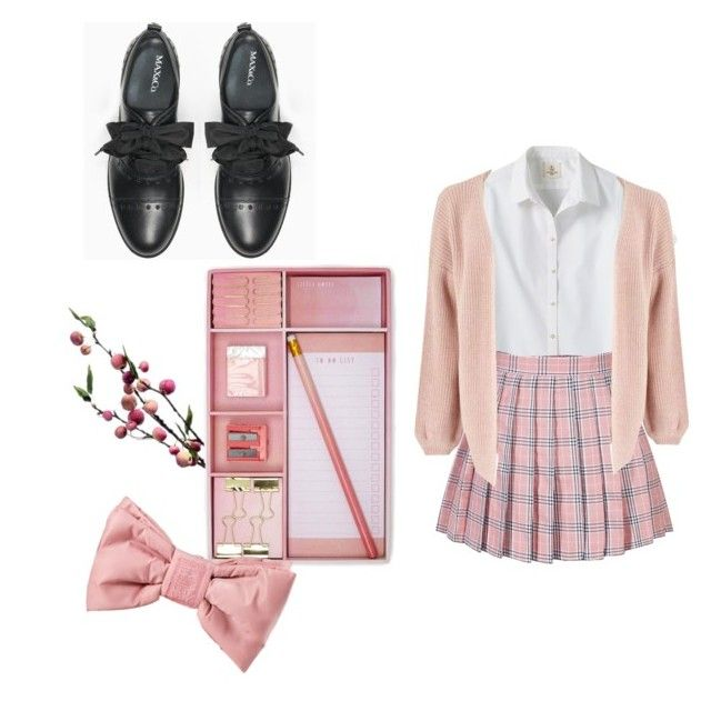 """""""Uniform design 1"""" by deathfluff ❤ liked on Polyvore featuring Wyld Home, Lands' End, Max&Co., Forever 21, Miss Selfridge and Puma"""