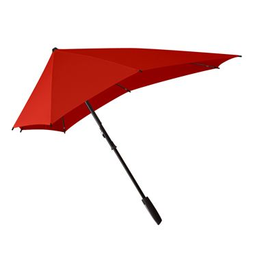 senz°_Smart 中型傘 ( 落日紅 sunset red )