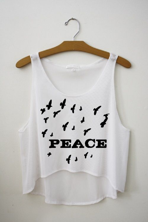 Peace. Fresh top @richelinet