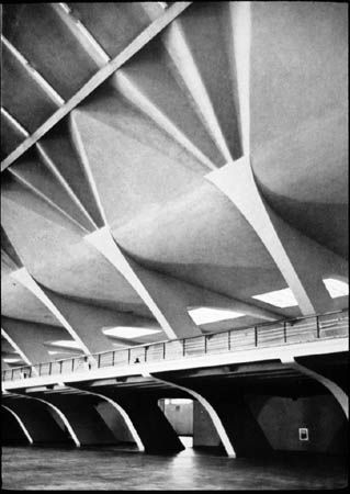 An Engineer's Aspect: 22 Pier Luigi Nervi Structures on October 22nd
