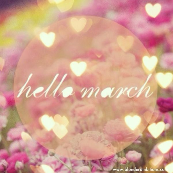 the days get longer... and it's one step closer to summer. hello march.