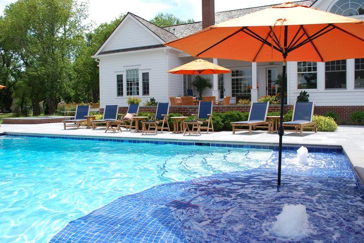 56 best custom swimming pools images on pinterest custom. Black Bedroom Furniture Sets. Home Design Ideas