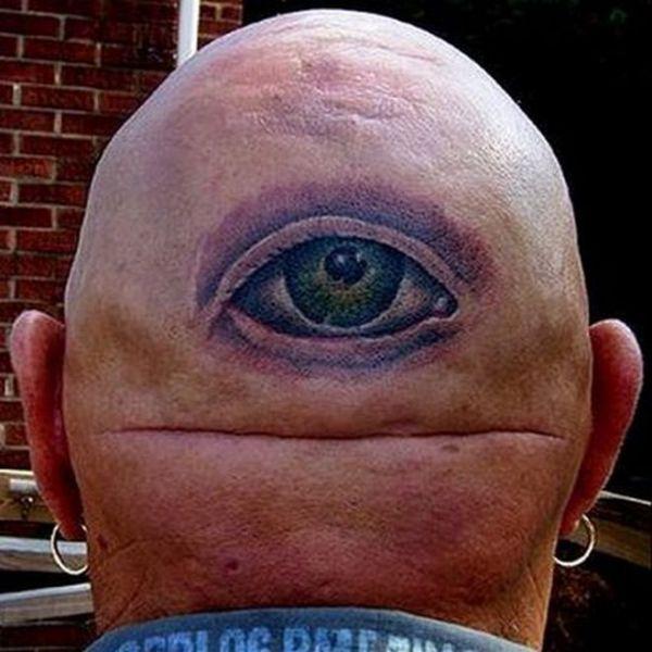 Weird Tattoos in Strange Places