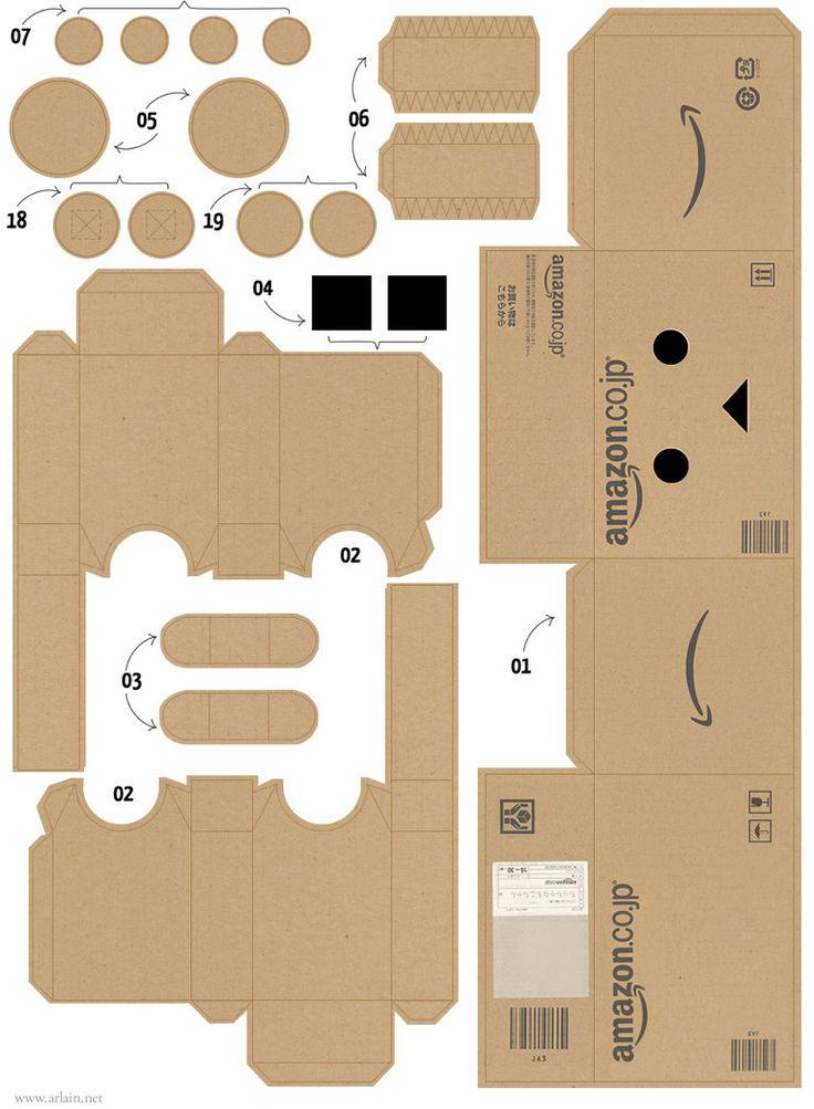 Danboard Papercraft Amazon 01 by ~Zarzamorita on deviantART