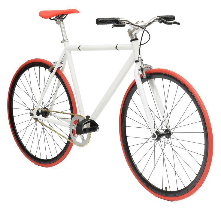De NO NAME WHITE RED STREETBIKE fixed gear is een sportieve en zeer moderne fixed gear fiets voor het alledaags gebruik. Of u nou op weg bent naar het werk of naar de winkel deze NO NAME WHITE RED STREETBIKE fixed gear brengt u snel overal heen. De NO NAME WHITE RED STREETBIKE fixed gear is zeer licht en gemaakt en uitermate geschikt voor vervanging van vervoer in de stad. Al met al de single speed fiets of fixed gear fiets die bij u past. In vele kleuren beschikbaar.single speed/fixed ...