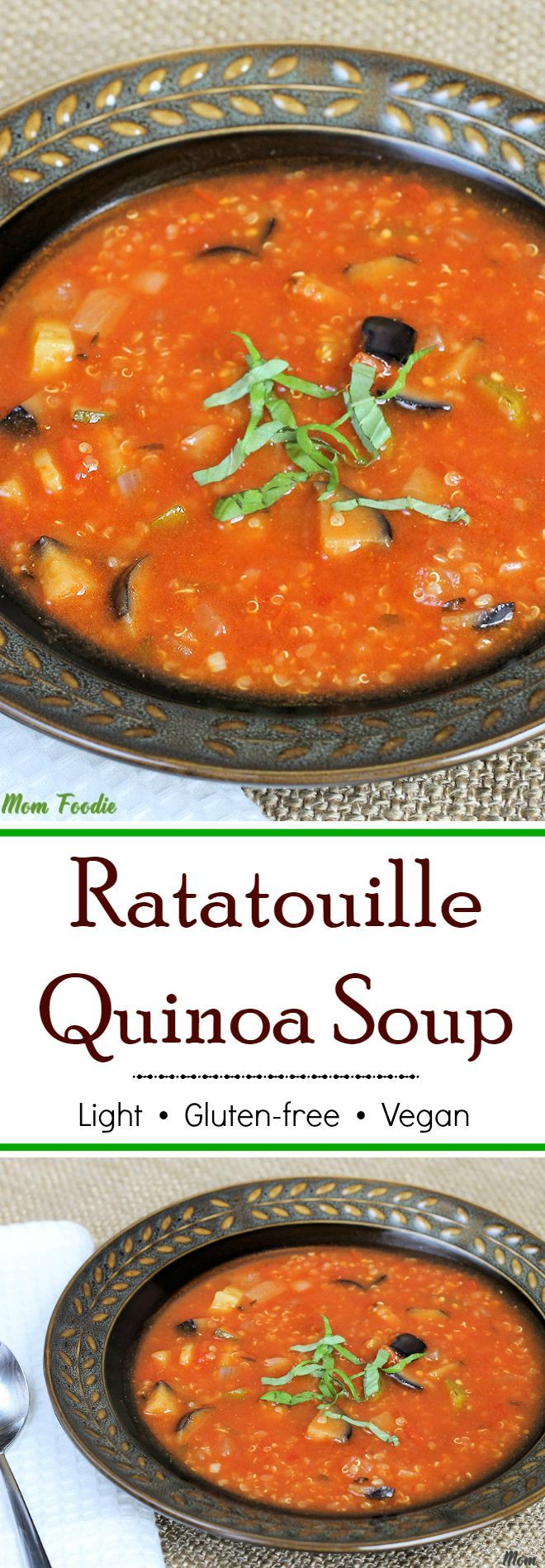496 best diet recipes images on pinterest against all grain light ratatouille quinoa soup gluten free vegan recipe forumfinder Images