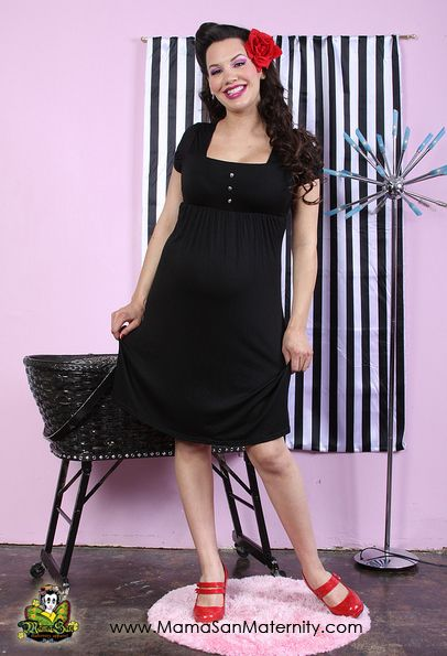 punk maternity clothes | Rockabilly Maternity Clothing: Maternity clothing styled for the ...