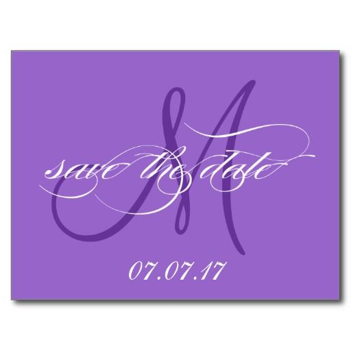 ==> consumer reviews          	Purple Save the Date Monogram Postcard           	Purple Save the Date Monogram Postcard lowest price for you. In addition you can compare price with another store and read helpful reviews. BuyShopping          	Purple Save the Date Monogram Postcard Here a great...Cleck Hot Deals >>> http://www.zazzle.com/purple_save_the_date_monogram_postcard-239482350727038167?rf=238627982471231924&zbar=1&tc=terrest