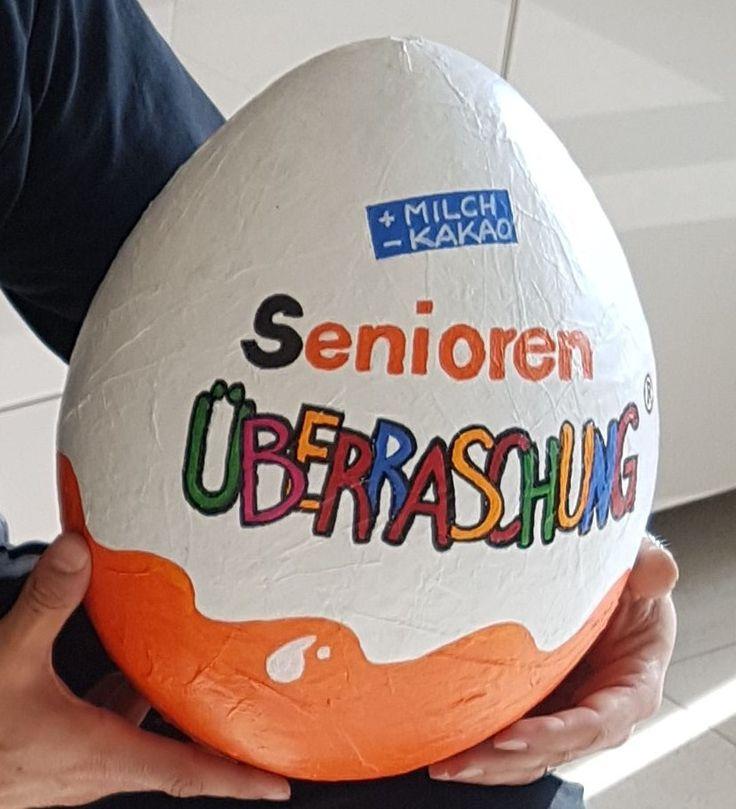 Überraschungsei für Senioren