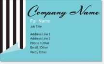 black blue Premium Business Cards