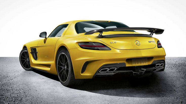 Mercedes-Benz 2014 SLS AMG Black Series