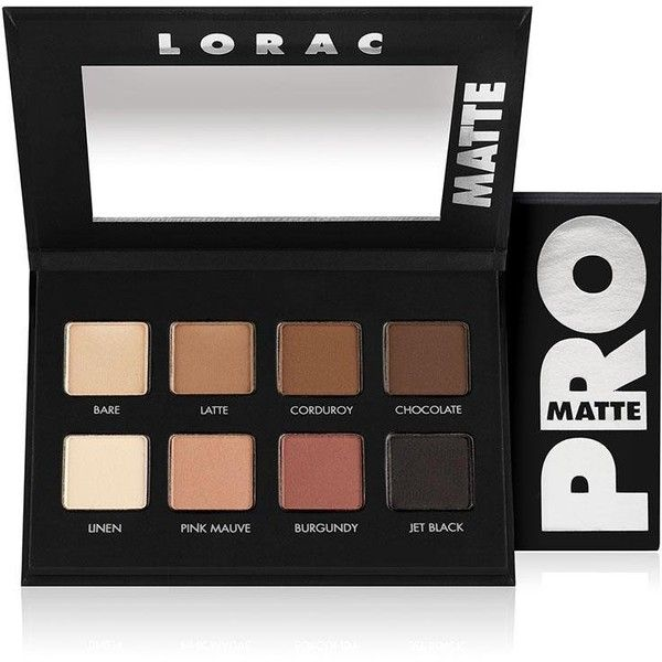 LORAC PRO Matte Eye Shadow Palette - Multi ($28) ❤ liked on Polyvore featuring beauty products, makeup, eye makeup, eyeshadow, beauty, lorac eye shadow, palette eyeshadow, lorac eyeshadow and lorac