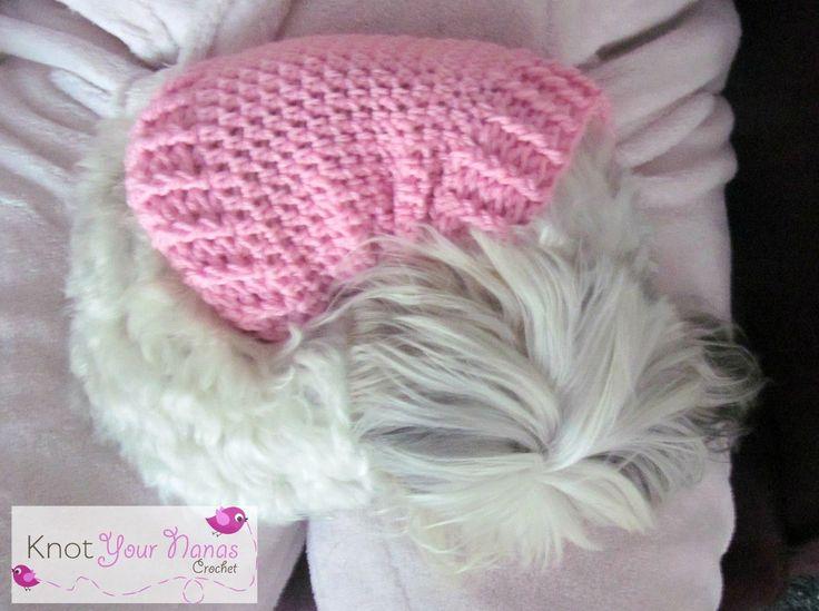 Knot Your Nana's Crochet: Small Dog Crochet Jumper