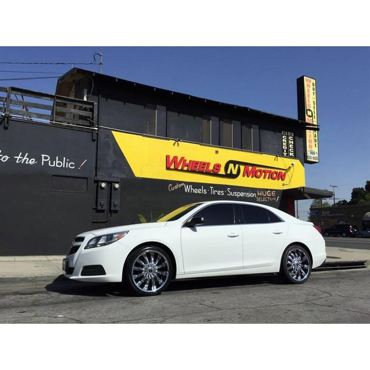 2013 Chevy Malibu by STRADA Wheels. Click to view more photos and mod info.