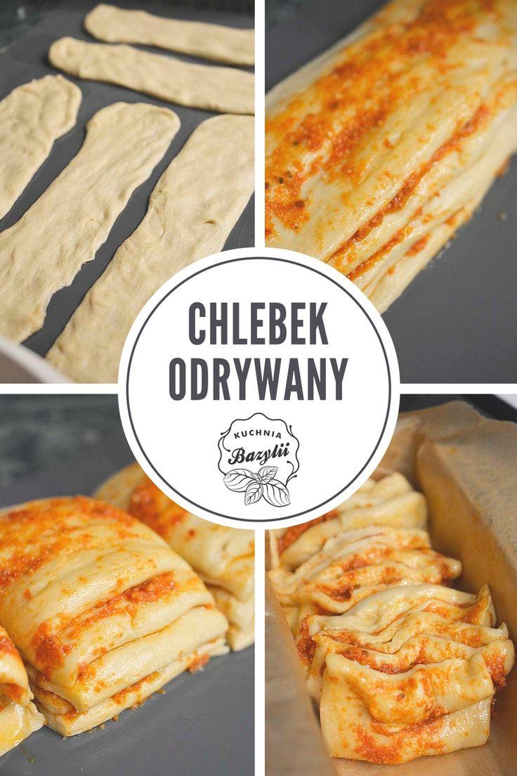 Ten chlebek odrywany jest bardzo prosty w przygotowaniu i bardzo smaczny, szczególnie posmarowany masłem. To doskonała