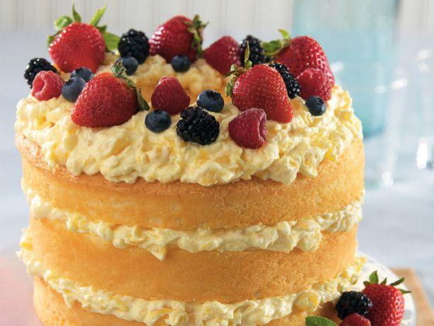 Easy Pineapple Lush Cake