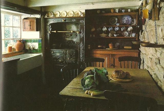 small English kitchen