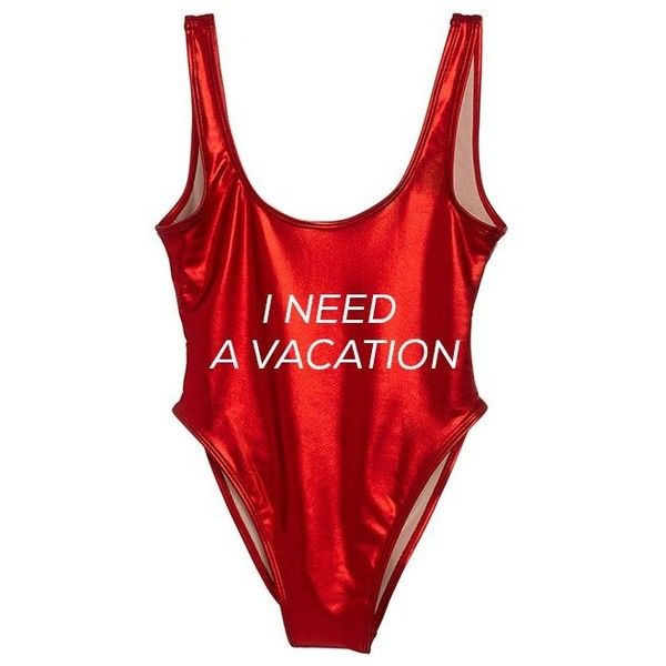 I NEED A VACATION [METALLIC SWIMSUIT] ($99) ❤ liked on Polyvore featuring swimwear, one-piece swimsuits, swimsuit swimwear, swim costume, metallic bathing suits, swimming costume and bathing suit swimwear