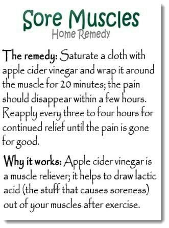 Home Remedy for Sore Muscles  #fitness
