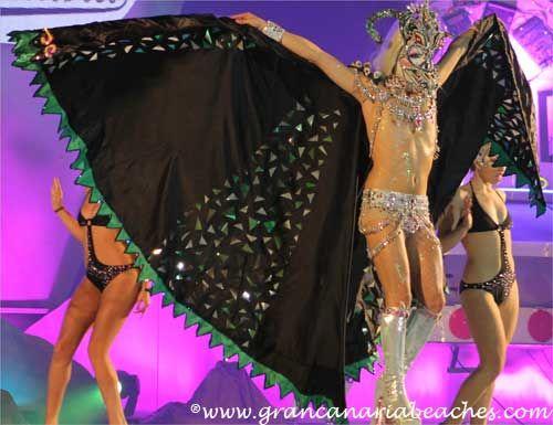 Drag La Tullida was the twelveth candidate in the 2013 Maspalomas Planet Drag Queen Contest held in Gran Canaria.