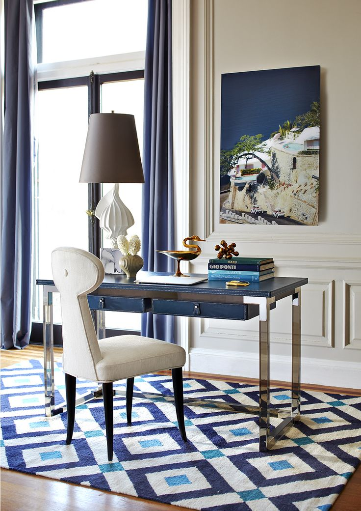 The Jonathan Adler Jacques Desk Is The Perfect Blend Of Simplicity And  Glamour, Modern And Traditional. A Clear Standout In Any Office.