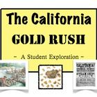 The 1849 California Gold Rush:  A Student Exploration