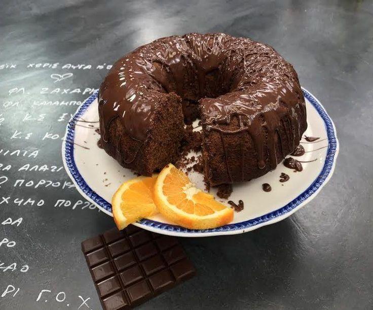Κέικ χωρίς αυγά και βούτυρο