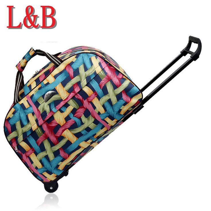 2017新しい品質ローリング荷物トロリーバッグ女性旅行バッグメタルハンドトロリー女性&男性バッグ大パッケージ旅行スーツケース