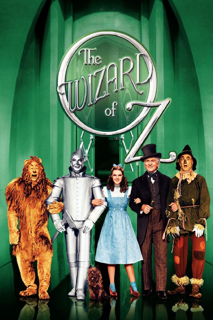 """The Wizard of Oz. """"My what a fuss you're making!"""" favorite movie of all time!"""