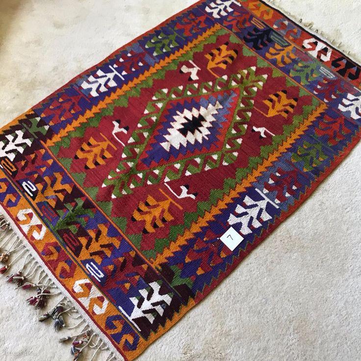 Turkish kilim rug - online bidding now