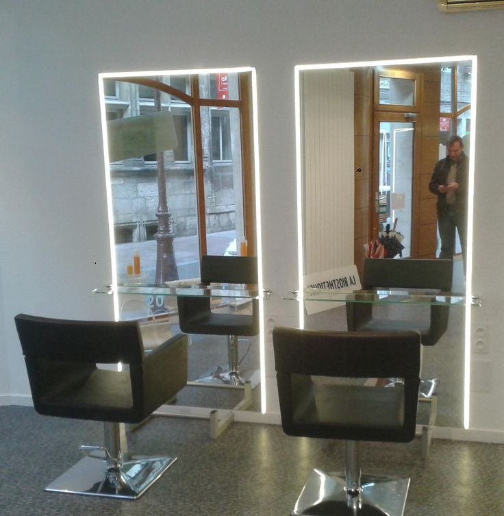 M s de 1000 ideas sobre miroir salon en pinterest salon for Miroir virtuel coiffure