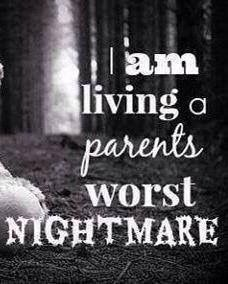 ♥♥♥ Repin if you are living a parent's worst nightmare. And there is no waking up from it.