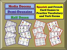 Foreign Language Card Games to Practice Verb Forms and Vocabulary