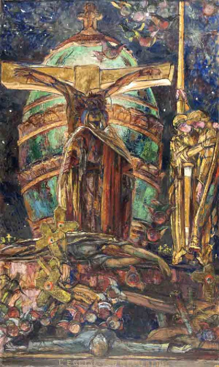 46 best George Desvallières (1861-1950) images on Pinterest   Stained glass, Angles and Beards