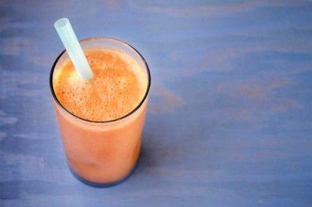 Морковный коктейль-смузи