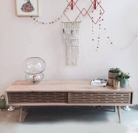 wewood #radio sideboard decorating a perfect livingroom interior