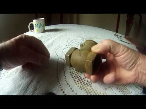 Building and installing a  hydraulic ram pump - YouTube