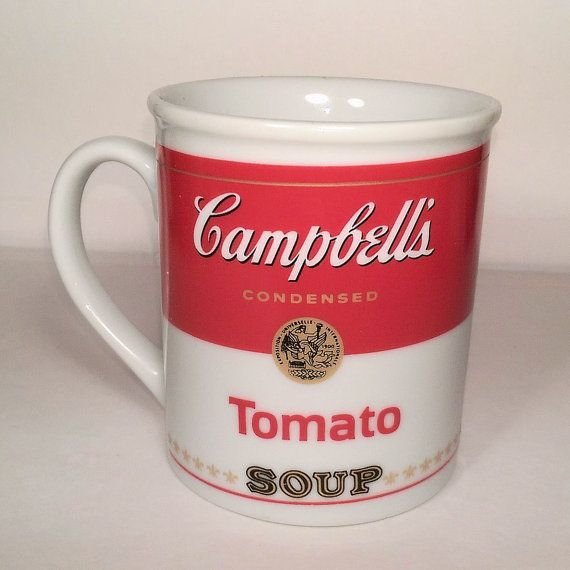 Campbell's Soup Company Collectors Soup Mug, 125th Anniversary - Modern…