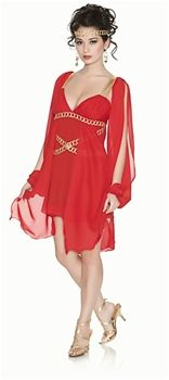 Greek Goddess in Red: Canada's Halloween Costume Shop CostumeChik